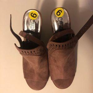 Brand New Open Toe Boot Heals